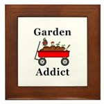 Garden Addict Framed Tile