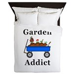 Garden Addict Queen Duvet