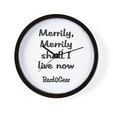 Merrily Live Wall Clock
