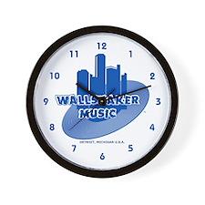 Wallshaker Music Wall Clock