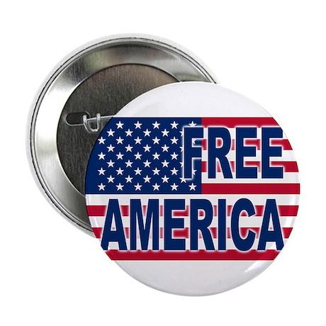 """Free America 2.25"""" Button"""