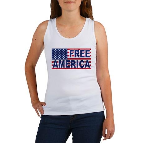 Free America Women's Tank Top