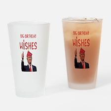 Big Birthday Wishes Drinking Glass