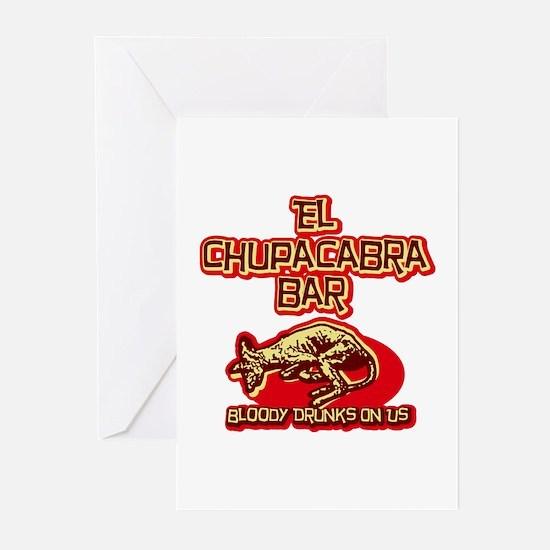 El Chupacabra Bar Greeting Cards (Pk of 10)