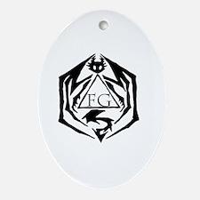 Cute Guild Oval Ornament