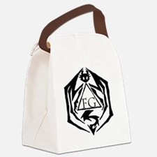Cool Logo Canvas Lunch Bag