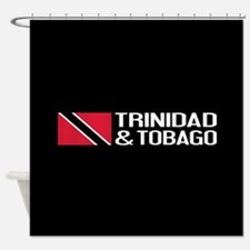 Trinidad & Tobago Flag Shower Curtain