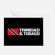 Trinidad & Tobago Flag Greeting Card