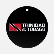 Trinidad & Tobago Flag Round Ornament
