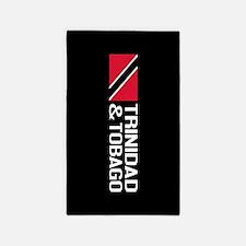 Trinidad & Tobago Flag Area Rug