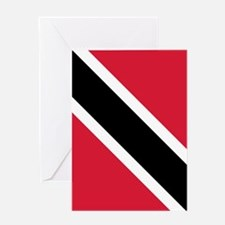 Trinidad & Tobago Flag Greeting Card