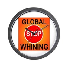 GLOBAL WHINING Wall Clock