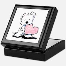 KiniArt Westie Warm Fuzzy Keepsake Box