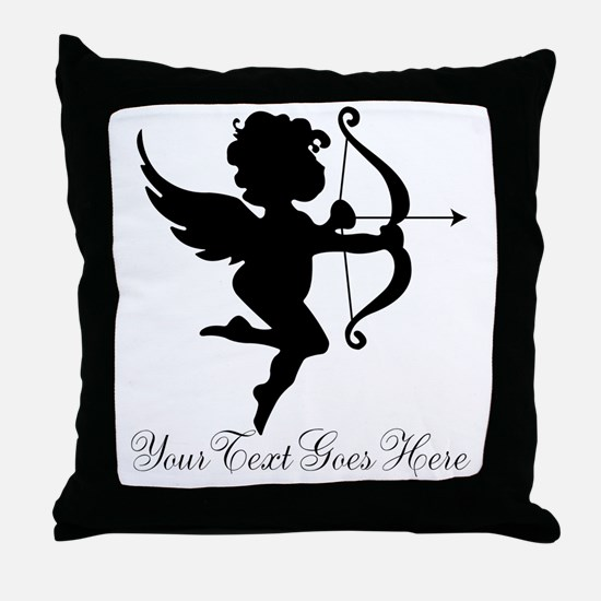 Valentines Day Gifts Cupid Throw Pillow