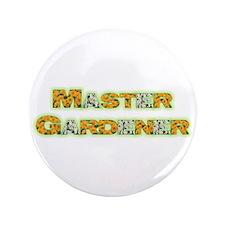 """Master Gardner 3.5"""" Button"""