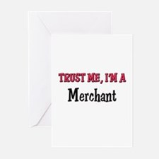Trust Me I'm a Merchant Greeting Cards (Pk of 10)