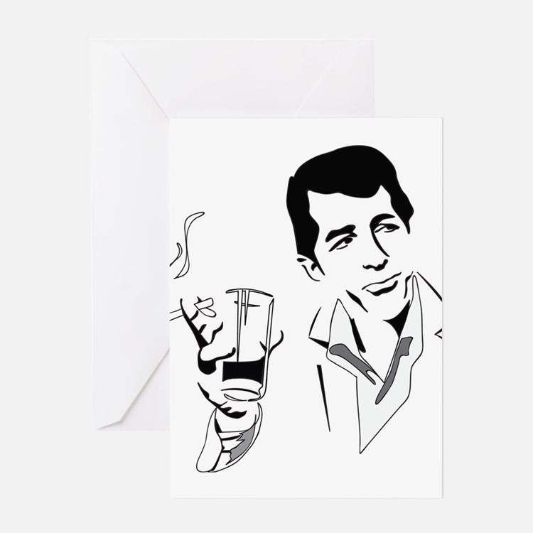 Dean Martin Greeting Cards