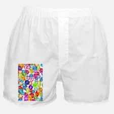 rainbow rhinestones Boxer Shorts