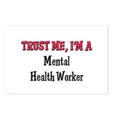Trust Me I'm a Mental Health Worker Postcards (Pac