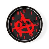 Anarchist Wall Clocks
