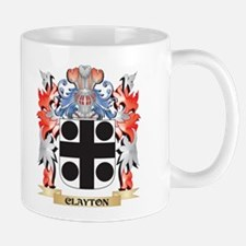 Clayton Coat of Arms - Family Crest Mugs
