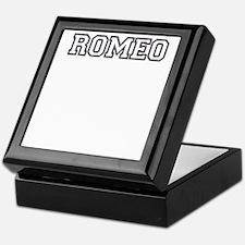 Romeo and juliet Keepsake Box