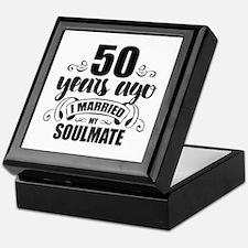 50th Anniversary Keepsake Box