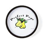 Perfect Pear Wall Clock