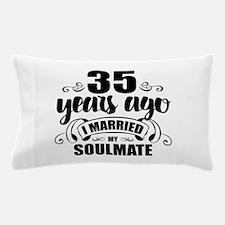 35th Anniversary Pillow Case