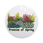 Promise of Spring Ornament (Round)