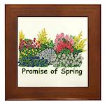 Promise of Spring Framed Tile