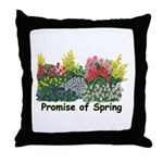 Promise of Spring Throw Pillow