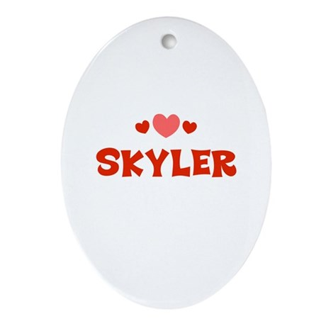Skyler Oval Ornament