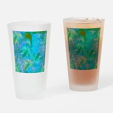 Opal Dragonfly Flight Drinking Glass