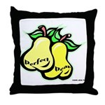 Perfect Pear Throw Pillow