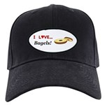 I Love Bagels Black Cap