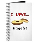 I Love Bagels Journal