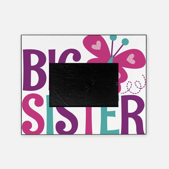 Butterfly Big Sister Picture Frame