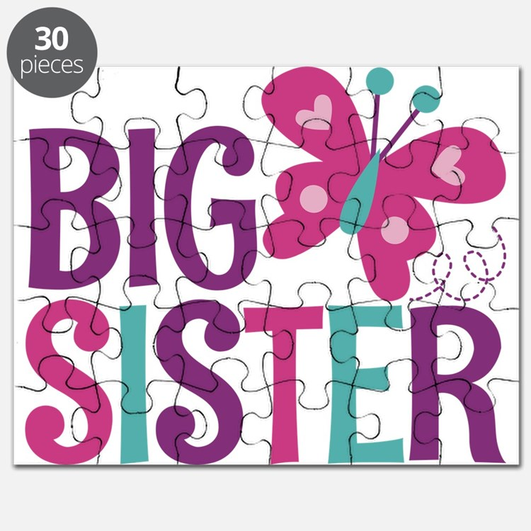 Butterfly Big Sister Puzzle