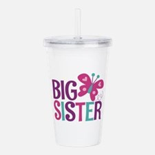 Butterfly Big Sister Acrylic Double-wall Tumbler