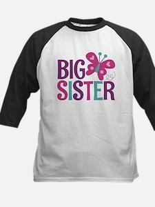 Butterfly Big Sister Baseball Jersey
