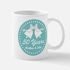 50th Anniversary Personalized Mugs