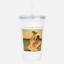 Summer Thought Acrylic Double-wall Tumbler