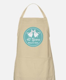 45th Anniversary Personalized Gift Apron