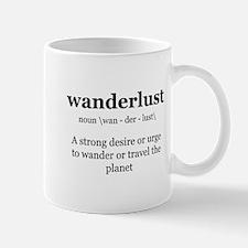 wanderlust definition Mugs