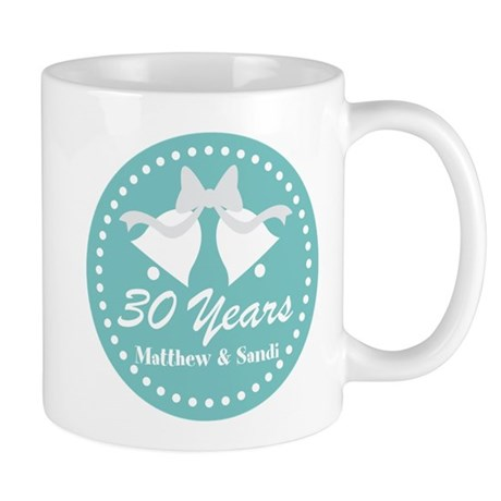 CafePress 30th Anniversary Personalized Gift Mugs