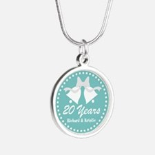 20th Anniversary Personalized Gift Necklaces