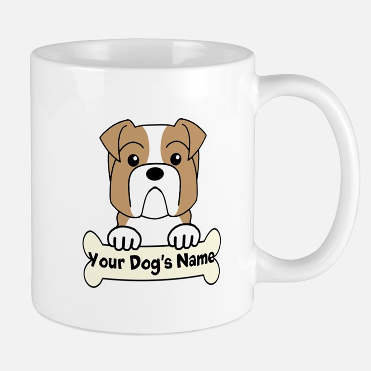 Personalized Bulldog Mug