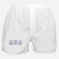 Masons' Creed Boxer Shorts