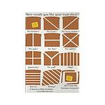 Heraldic Toast Rectangle Magnet (10 pack)